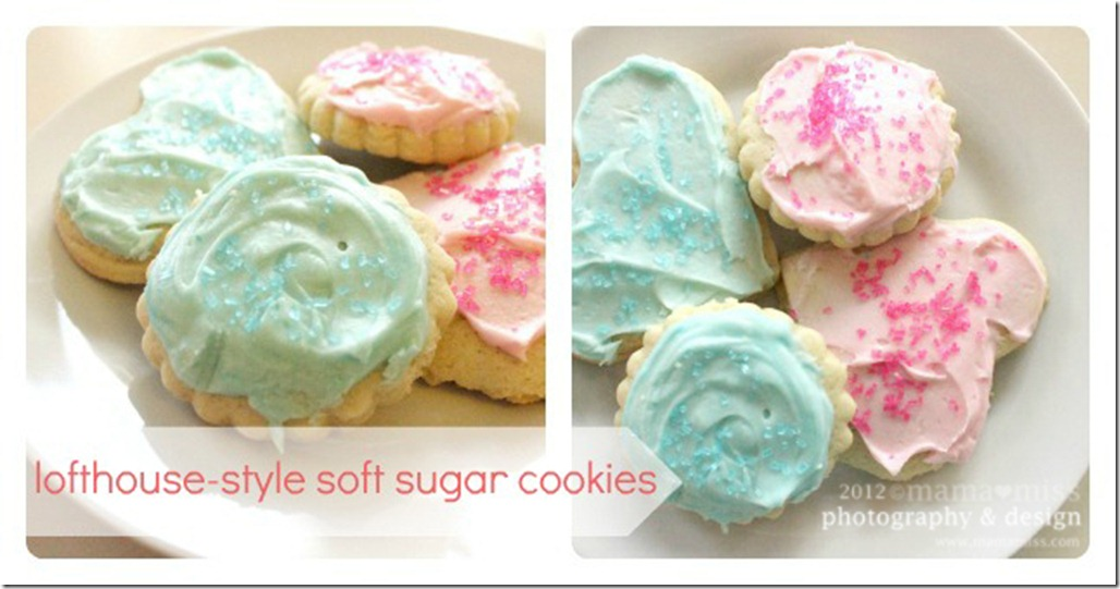bake: Lofthouse-Style Soft Sugar Cookies