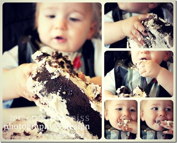 Vegan St Birthday Cake